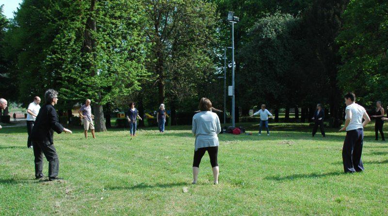 Qi Gong e Tai Chi della Scuola Itcca Italia al Parco a Castiglione Olona