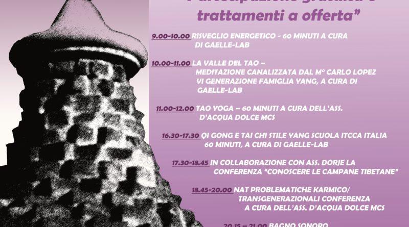 22 luglio Salute tra il Sacro e l'Olistico in San Rocco a Carnago