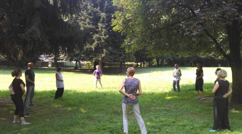 Qi Gong e Tai Chi della Itcca Italia nei Parchi  del Varesotto