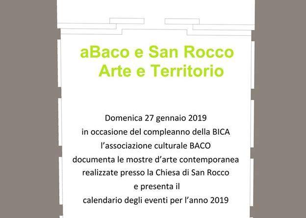 Arte e Territorio in San Rocco 27.01.2019