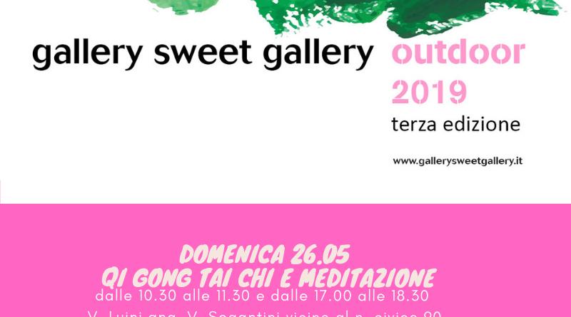 26 maggio durante Gallery Sweet Gallery Outdoor 2019