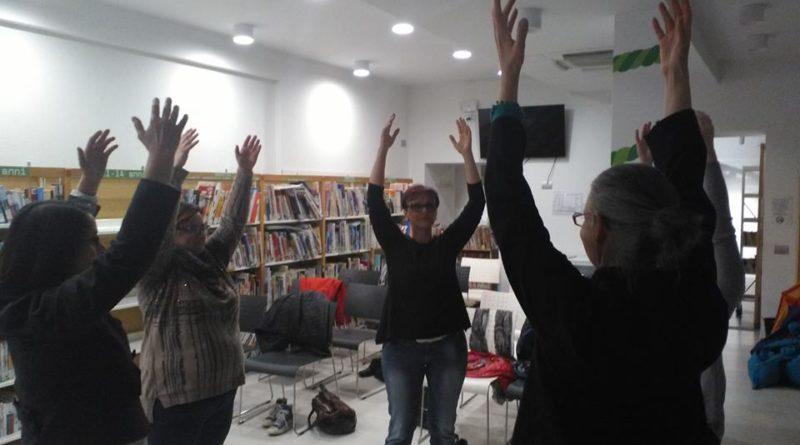 Qi Gong e Tai Chi della Scuola Itcca Italia presso la biblioteca Bica a Carnago