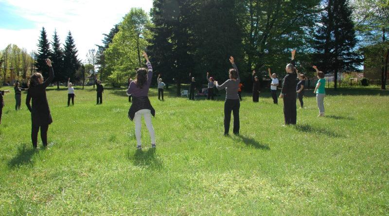 Qi Gong e Tai Chi della Scuola Itcca Italia al Parco