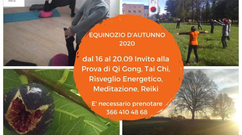 Equinozio d'autunno 2020: invito alla prova a Castiglione Olona e Varese